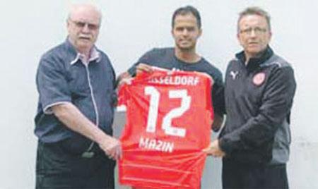السعودي مازن الحذيفي يحترف في الدوري الألماني