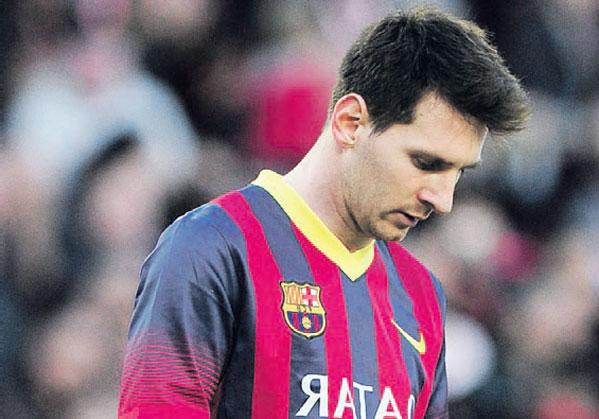 Photo of برشلونة يدفع ثمن الاعتماد على ميسي
