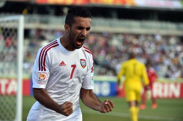 مبخوت يقود هجوم الجزيرة الإماراتي أمام النصر