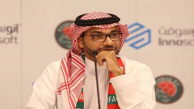 رئيس الإتفاق يؤكد دعمه ومساندته للاعب عبدالله هزازي