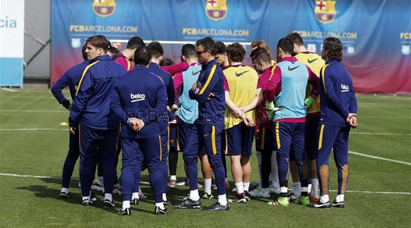 برشلونة يستعد لـ خيخون بمعنويات مرتفعة