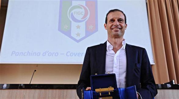 أليجري يوافق على تجديد عقده مع يوفنتوس حتى 2019