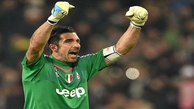 بوفون يحطم الأرقام في الدوري الإيطالي