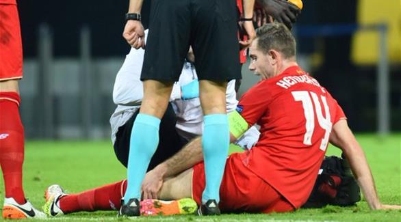 الإصابة تبعد قائد ليفربول 8 أسابيع عن الملاعب