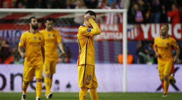 برشلونة دفع ثمن الثقة المفرطة أمام أتلتيكو مدريد