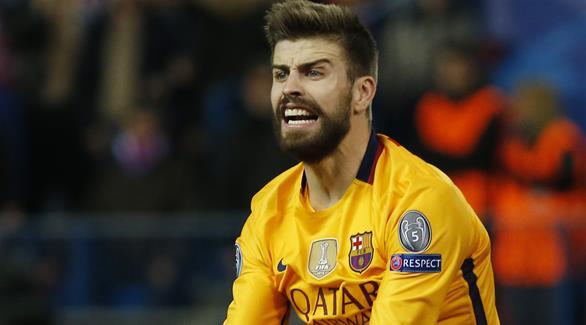 بيكيه: لم نتوقع الخروج أمام أتلتيكو مدريد