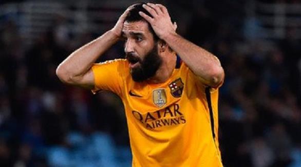 مدرب برشلونة يستبعد توران من لقاء فالنسيا
