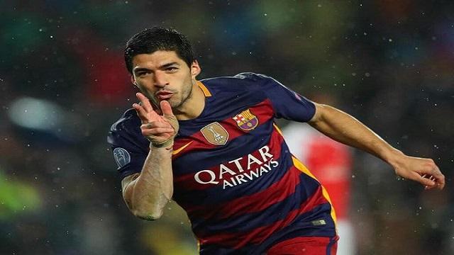 لويس سواريز يحطم الأرقام مع برشلونة