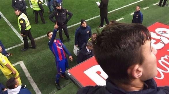 برشلونة يطالب بيكيه بعدم التحدث عن الحكام