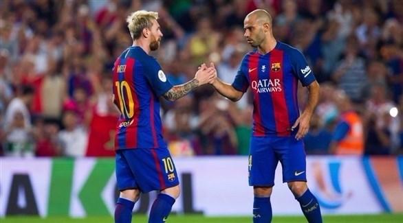 ماسكيرانو: لا أتخيل ميسي في نادي غير برشلونة
