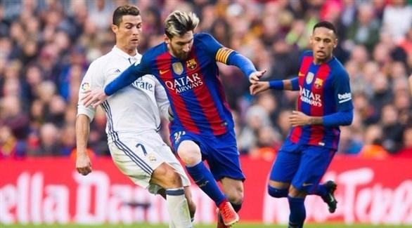 الكلاسيكو ريال مدريد لمواصلة الصعود