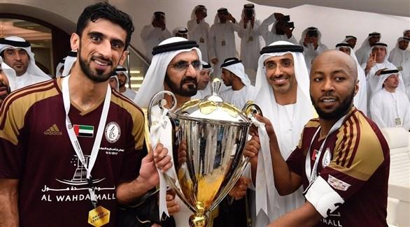 الوحدة بطلاً لـ كأس الإمارات بثلاثية في النصر