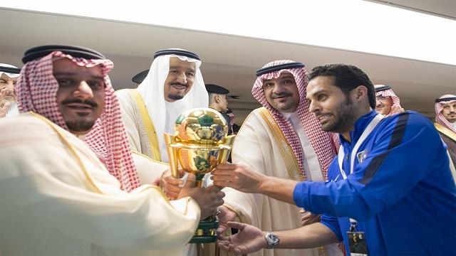الأمير الوليد بن طلال يكافئ الهلال بـ 2 مليون ريال