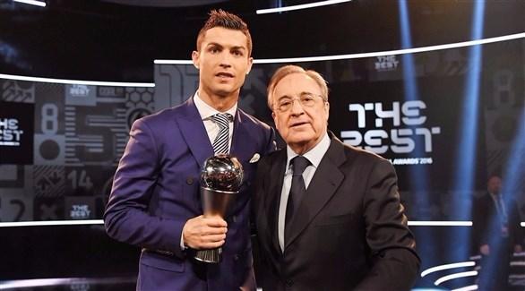 بيريز: رحيل كريستيانو ريال مدريد