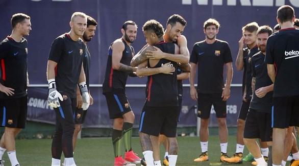 برشلونة يكمل أسبوع الإستعدادات للموسم