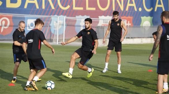 سواريز وباولينيو يعودان لبرشلونة قبل لقاء إسبانيول