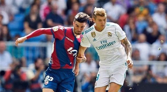 ريال مدريد يسقط في كمين ليفانتي