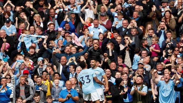 أغويرو أفضل هداف غير أوروبي في الدوري الانجليزي