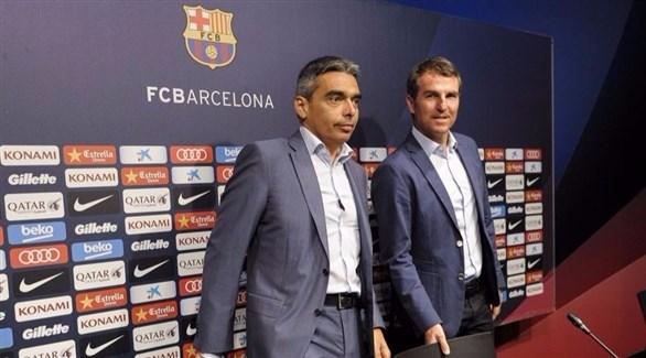 مسلسل الإستقالات يستمر برشلونة