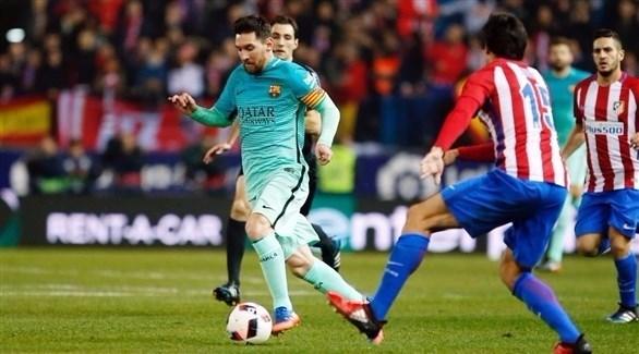 آمال برشلونة بالفوز أتلتيكو مدريد
