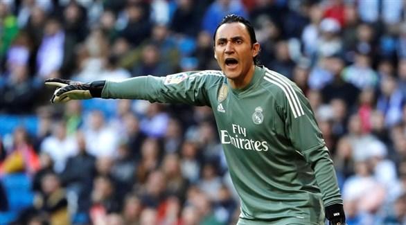 حارس ريال مدريد يطلب الرحيل في يناير