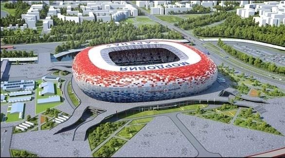 12 ملعباً تستضيف فعاليات روسيا 2018