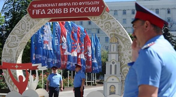 مقاتلون من حروب الكرملين يحرسون كأس العالم