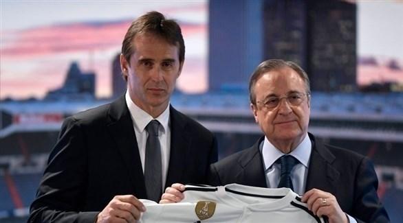 رئيس ريال مدريد يشن هجوماً نارياً على رئيس الاتحاد الإسباني