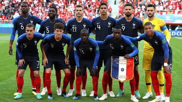 مشوار وصول فرنسا إلى نهائي كأس العالم