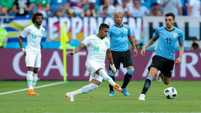 5 حقائق شهدتها مباراة السعودية وأوروغواي