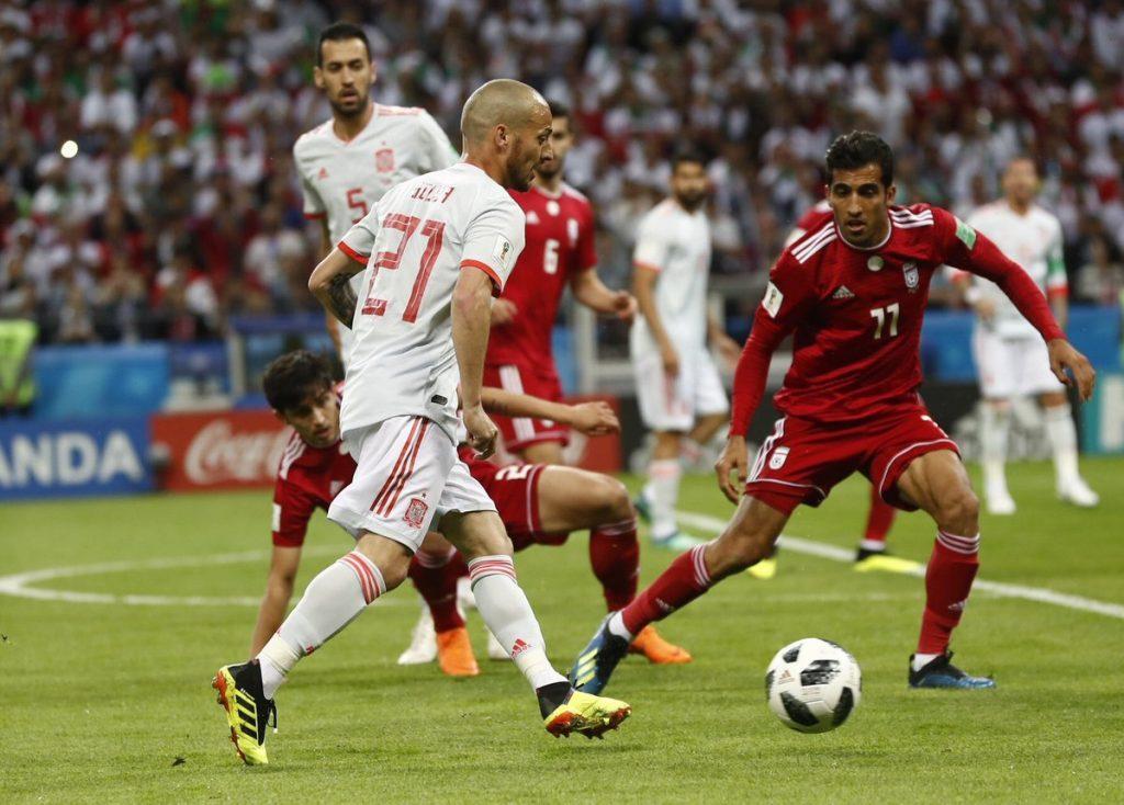إسبانيا تخطف نقاط إيران بهدف نظيف