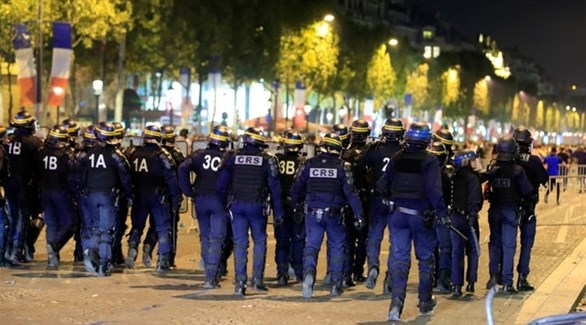 12 ألف شرطي في باريس لتأمين احتفالات نهائي المونديال