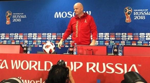 إنفانتينو: مونديال روسيا 2018 هو الأفضل على الإطلاق !