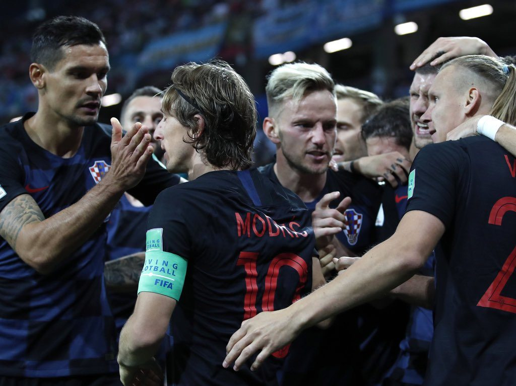 تعرف على مسيرة كرواتيا الصعبة لنهائي كأس العالم
