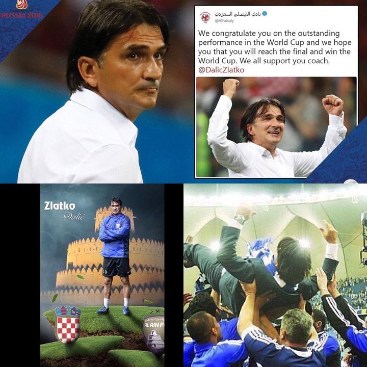 تعرف على رسالة مدرب كرواتيا للهلال والفيصلي