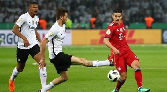 الصدام يتجدد بين بايرن ميونيخ وآينتراخت في السوبر الألماني
