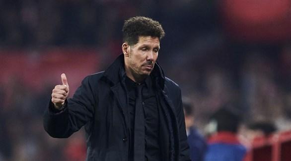 سيميوني يعلق على إنضمام كورتوا لـ ريال مدريد