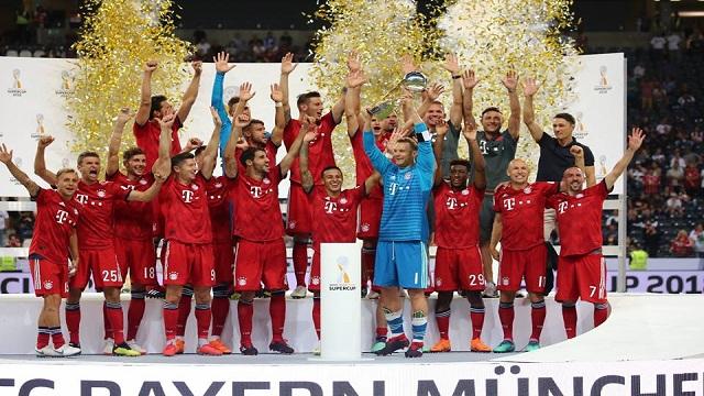 بايرن ميونيخ بطلاً للسوبر الألماني بـ الخمسة