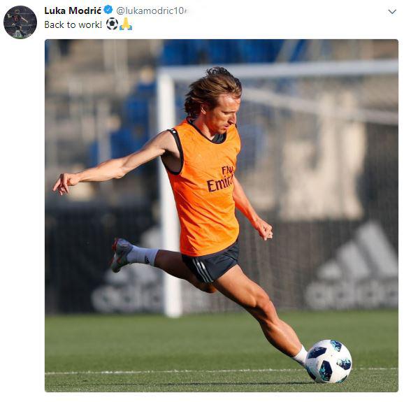 مودريتش يطمئن جماهير ريال مدريد