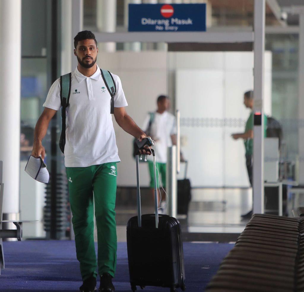الأخضر السعودي يصل جاكرتا لخوض منافسات دورة الألعاب الآسيوية