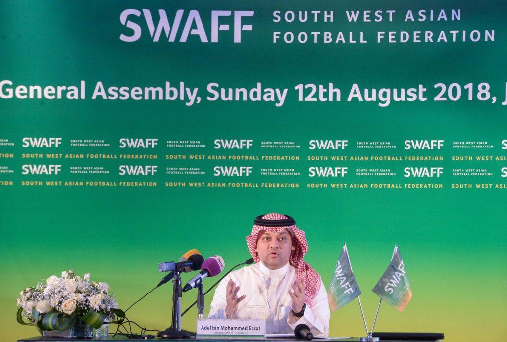 اتحاد جنوب غرب آسيا يزكي عادل عزت رئيساً للاتحاد