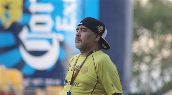 مارادونا يحصل على معاملة النجوم في المكسيك