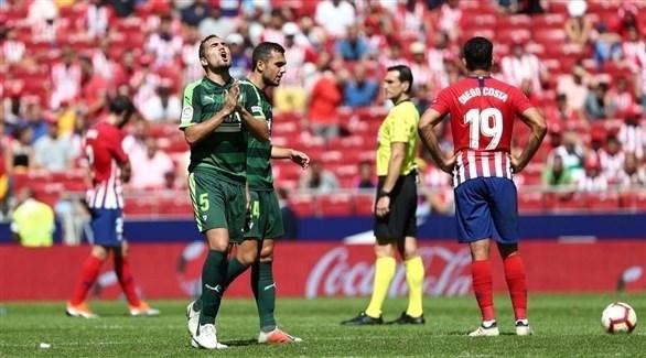 أتلتيكو مدريد يسقط في فخ التعادل أمام إيبار
