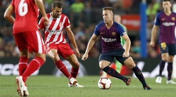 جيرونا يفجر مفاجأة أمام برشلونة