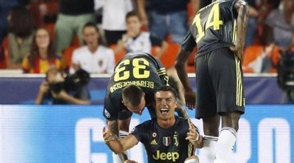 إيقاف كريستيانو رونالدو رسمياً في دوري الأبطال