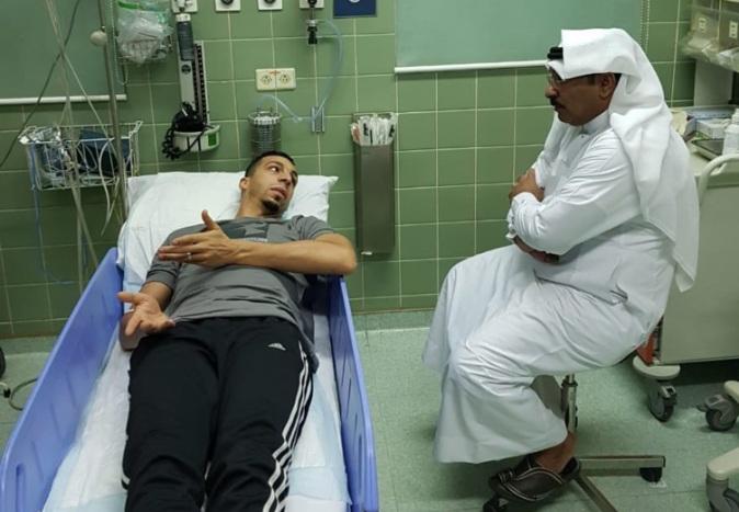 إدارة أحد : نبحث نقل إسلام سراج إلى المستشفى العسكري