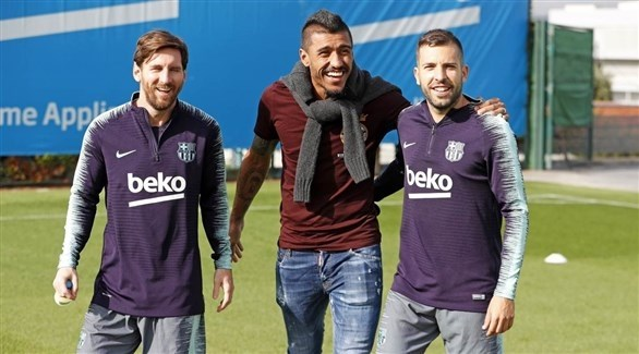 لاعبو برشلونة يخضعون لإختبار منشطات