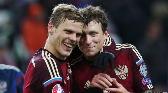 اعتقال ثنائي المنتخب الروسي بعد اتهامهما بالعنف