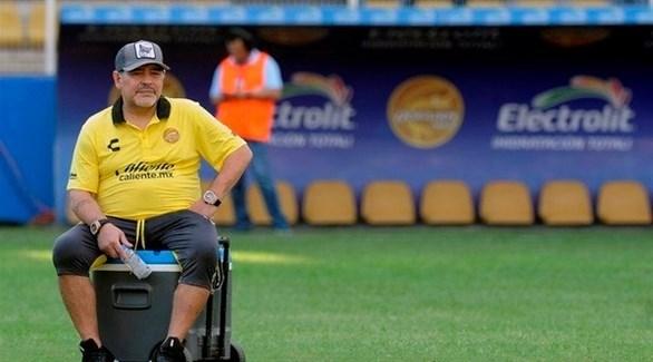 جدل حول صحة مارادونا بسبب مقطع فيديو