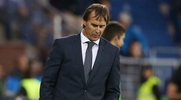 مدرب ريال مدريد : أتحمل المسؤولية كاملة عن جميع اللاعبين